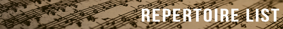 Repertoire List